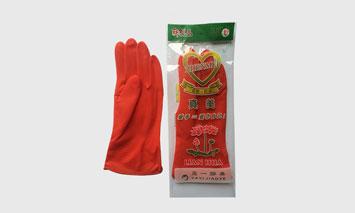 真美牌防滑家用乳膠手套
