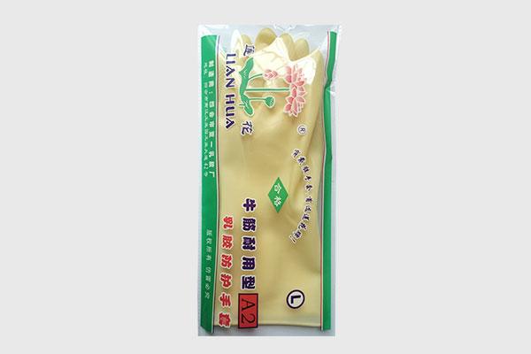 蓮花牌加厚工業乳膠手套