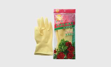 亞一牌防滑家用乳膠手套